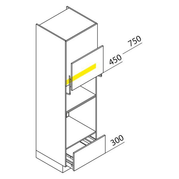 Nolte Küchen Hochschrank Geräteschrank GBLA210-3