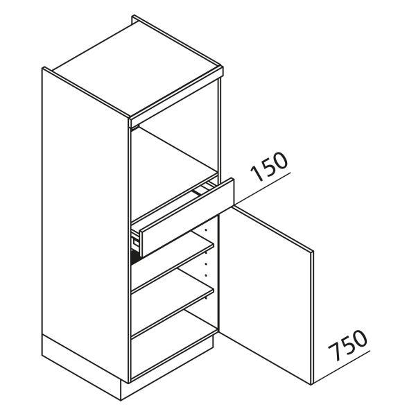 Nolte Küchen Hochschrank Geräteschrank GBS150-2