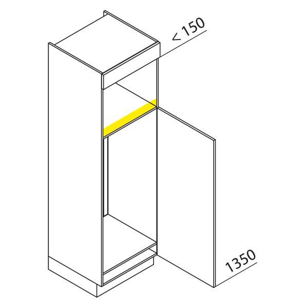 Nolte Küchen Hochschrank Geräteschrank GKB195-123-4