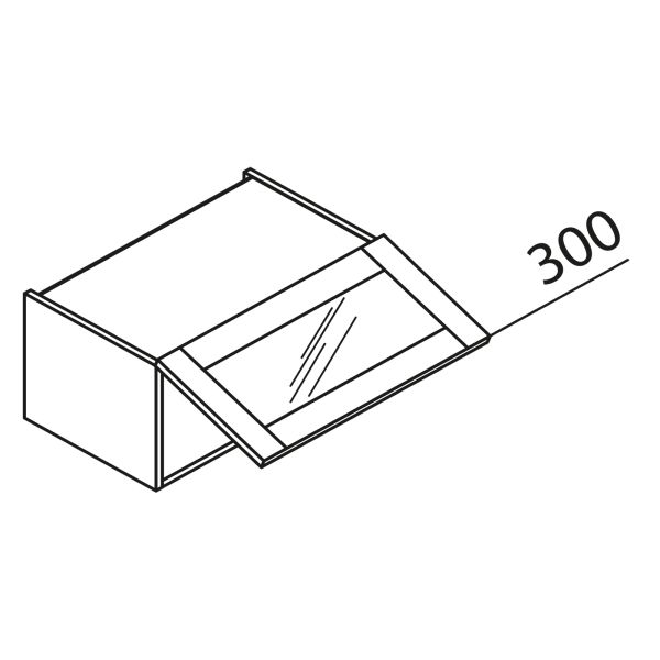 nolte k chen glas h ngeschrank hv100 30 g nstig kaufen. Black Bedroom Furniture Sets. Home Design Ideas