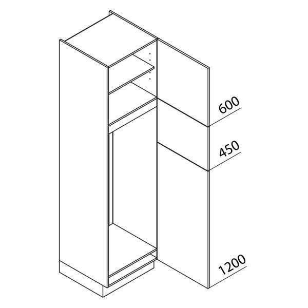 Nolte Küchen Hochschrank Geräteschrank GKG225-145
