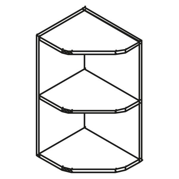 kitchenz k1 Diagonalregal HRO5-036