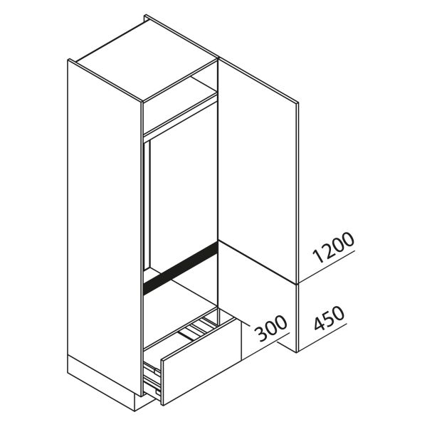Nolte Küchen Hochschrank Geräteschrank GKA195-144-09