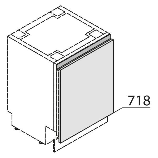 Nolte Küchen MatrixArt Gerätefront für Geschirrspüler YGSBD60-01