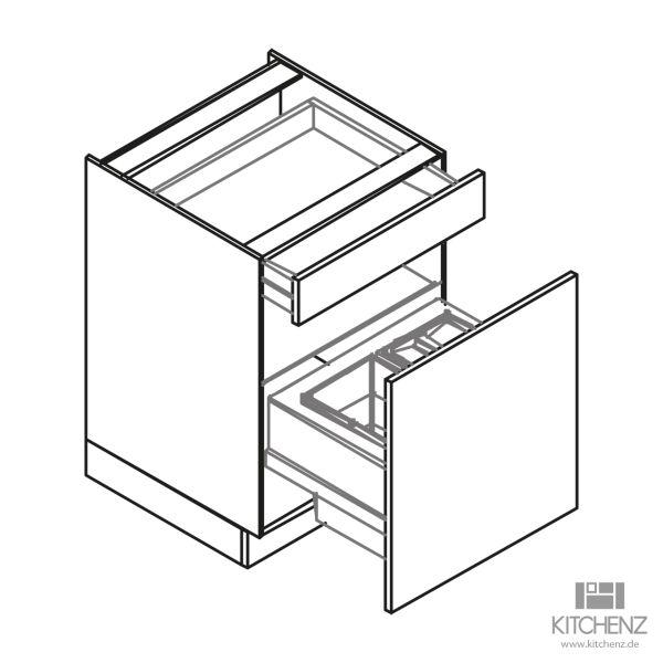 kitchenz k1 Unterschrank U6-050SZAB3