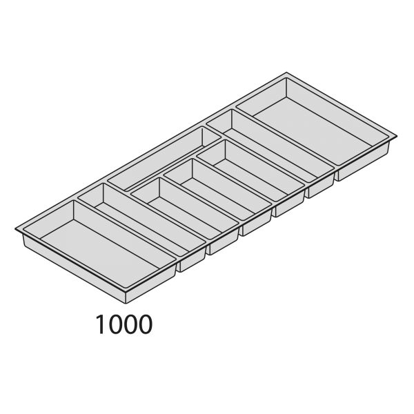 Besteckorganisation Kunststoff BEI100-50