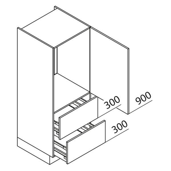 Nolte Küchen Hochschrank Geräteschrank GKAZ150-88