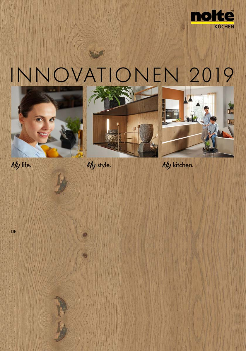 Nolte Küchen Katalog Innovationen 2019