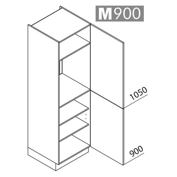 Nolte Küchen Hochschrank Geräteschrank GK195-88-01