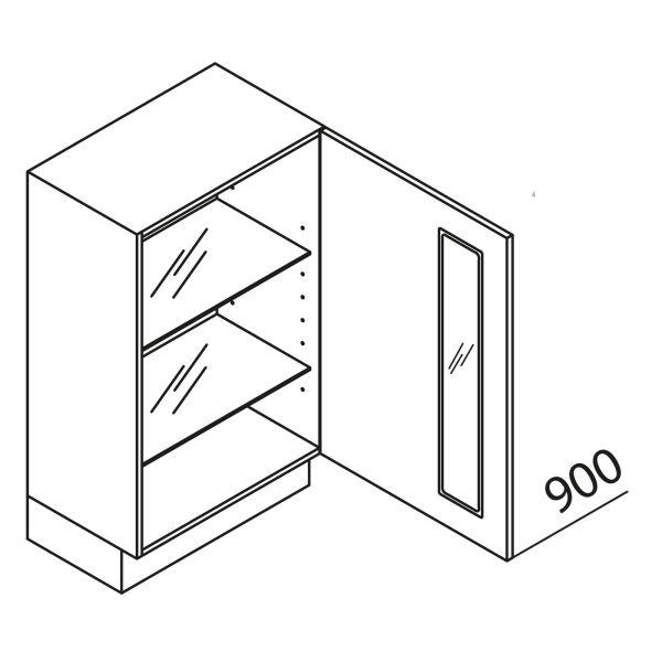 Nolte Küchen Unterschrank mit Glas UDDAG100-90-39