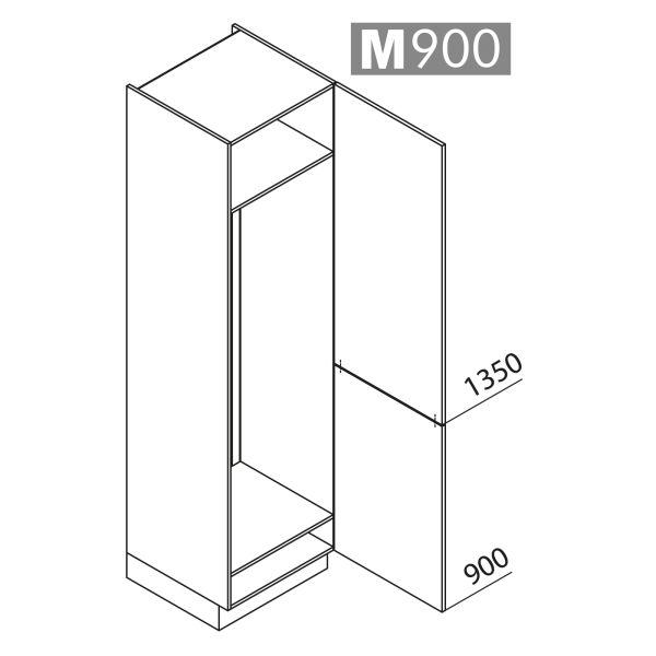 Nolte Küchen Hochschrank Geräteschrank GK225-179-01
