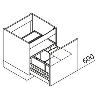 Unterschrank Spülenschrank Nolte Küchen SABD80-60-60-02