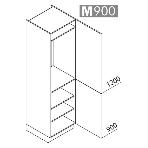 Nolte Küchen Hochschrank Geräteschrank GK210-103-01