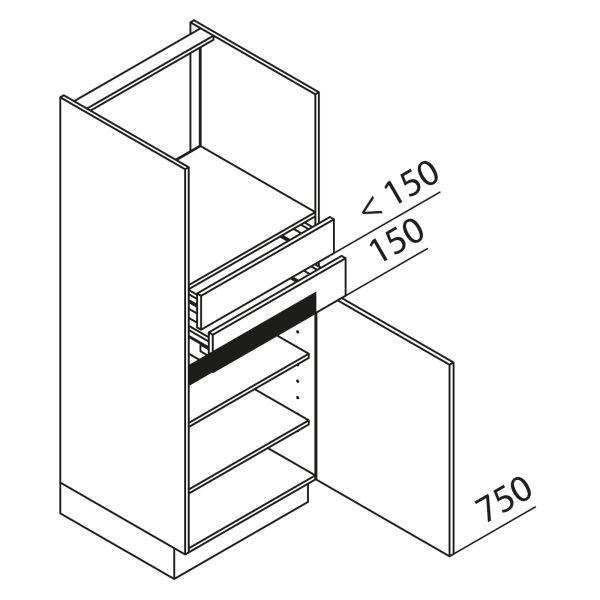 Nolte Küchen Hochschrank Geräteschrank GBS150-4