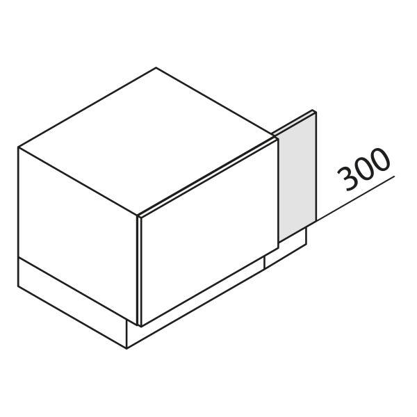Nolte Küchen Unterschrank-Passleiste UPL1-45