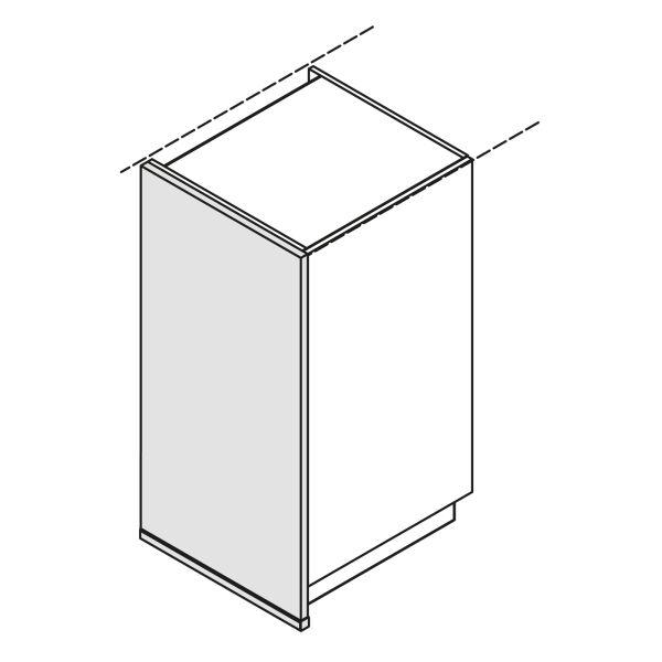Nolte Küchen Hochschrank Wange Bodentief WA-S105-60