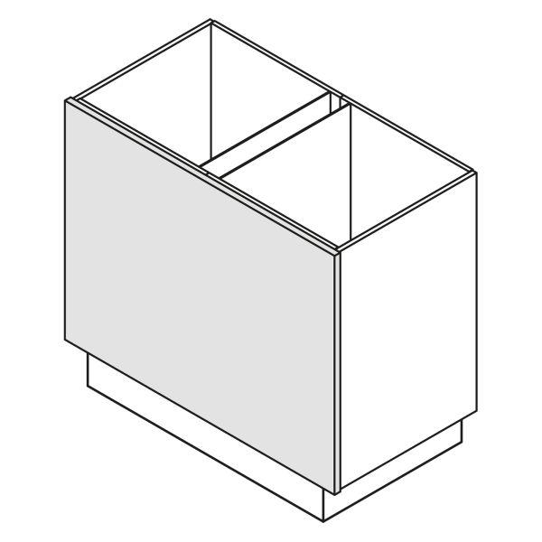 Nolte Küchen Unterschrank Wange Korpushöhe W16-ZE90-120