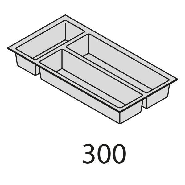 Nolte Küchen Besteckeinsatz Kunststoff BEI30-50