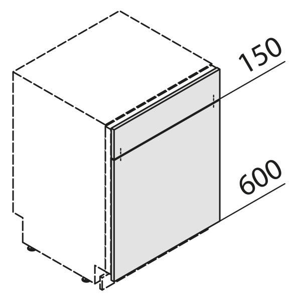 Türfront für Geschirrspüler KSBS45