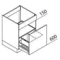 Nolte Küchen Unterschrank Spülenschrank SAB60-02