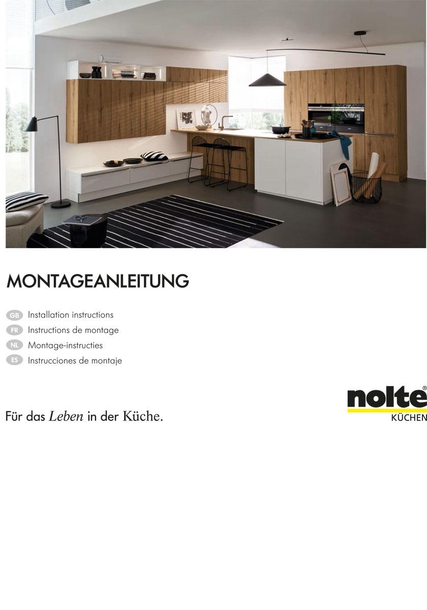 Nolte Küchen Katalog Montageanleitung