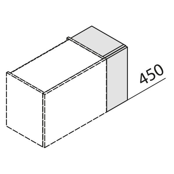 Nolte Küchen Hängeschrank Passstück Frontbezogen HP1-45