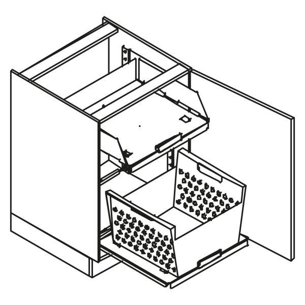 kitchenz k1 Unterschrank U6-060HW-1