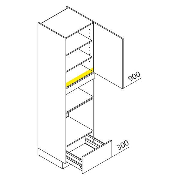 Nolte Küchen Hochschrank Geräteschrank GBBA225-3-1