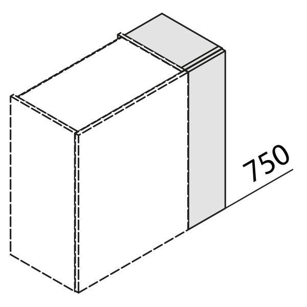 Nolte Küchen Hängeschrank Passstück Frontbezogen HP1-75