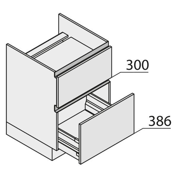 Nolte Küchen MatrixArt Geräte-Unterschrank für Kochstelle YKUZ120
