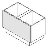 Wange, in Korpushöhe Nolte Küchen W12-ZE60-120