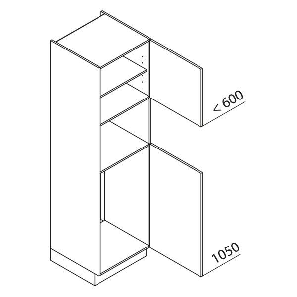 Nolte Küchen Hochschrank Geräteschrank GKB210-103-4