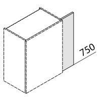 Nolte Küchen Hängeschrank Passleiste HPL1-75