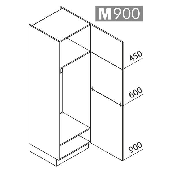Nolte Küchen Hochschrank Geräteschrank GK195-123-01