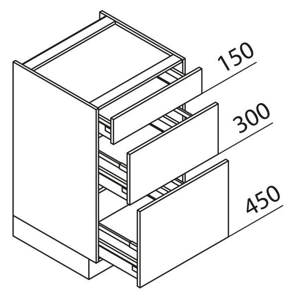 Nolte Küchen Unterschrank Kochstellenschrank KUAK100-90-60-B