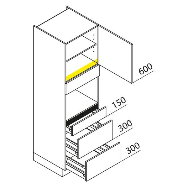Nolte Küchen Hochschrank Geräteschrank GBAK195-2
