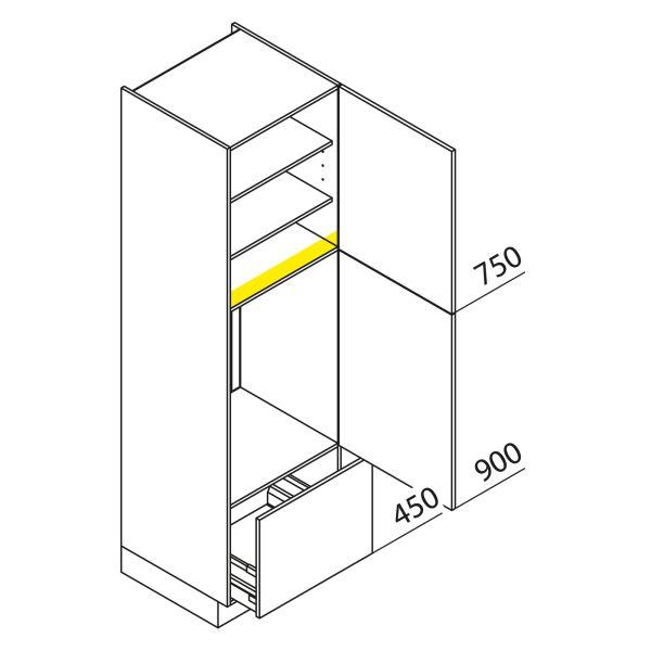 Nolte Küchen Hochschrank Geräteschrank GKA210-88