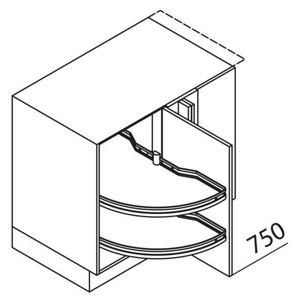 Nolte Küchen Eckschrank UEAD125-65MS-R