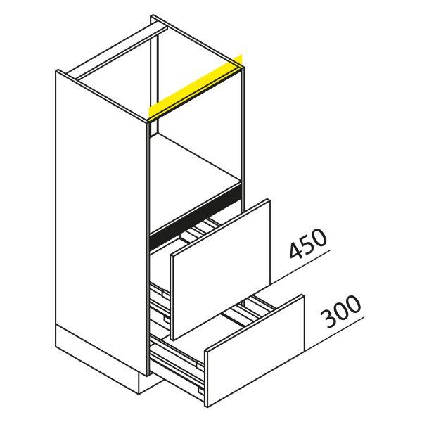 Nolte Küchen Hochschrank Geräteschrank GBAZ135-3