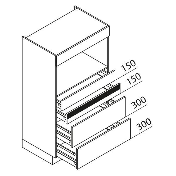 Nolte Küchen Hochschrank Geräteschrank GBAK90-150-2