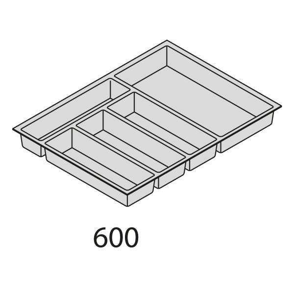 Besteckorganisation Kunststoff BEI60-50
