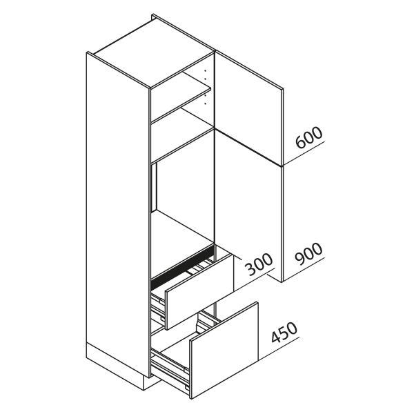 Nolte Küchen Hochschrank Geräteschrank GKZ225-88