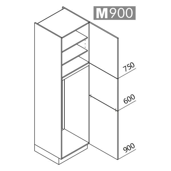 Nolte Küchen Hochschrank Geräteschrank GK225-144-01
