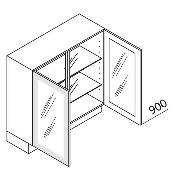 Nolte Küchen Unterschrank mit Glastür DE UDDDE90-90-39