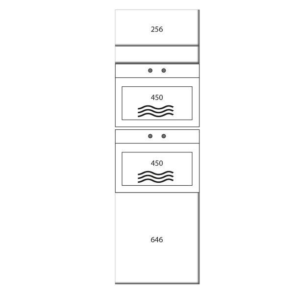 kitchenz k1 Geräteschrank DGO15-MM