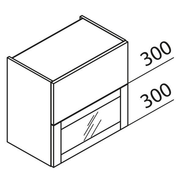 Nolte Küchen Hängeschrank Faltklappenschrank mit Glas HFKVPU60-60
