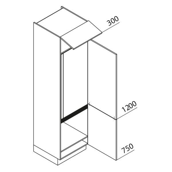 Nolte Küchen Hochschrank Geräteschrank GK225-179
