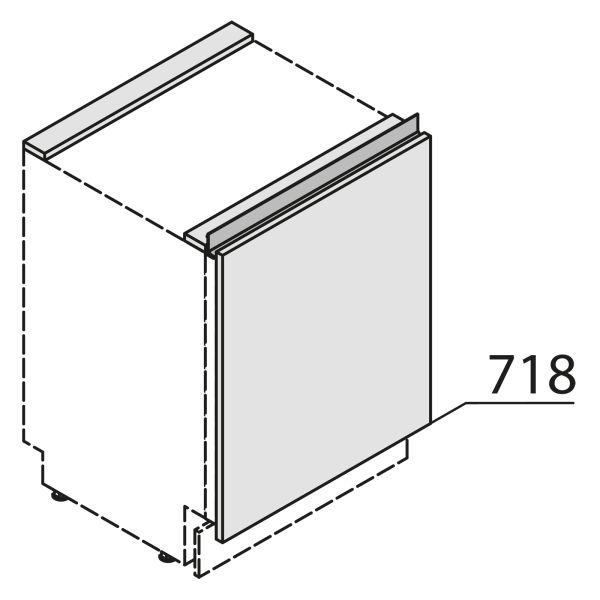 Nolte Küchen MatrixArt Gerätefront für Waschmaschine YWSBD60-01