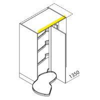 Nolte Küchen Hochschrank Eckschrank LE MANS VELA110-135