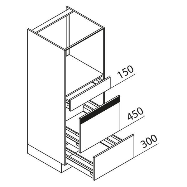 Nolte Küchen Hochschrank Geräteschrank GBAZ150-3